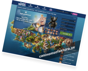 bonus på casinoheroes casino
