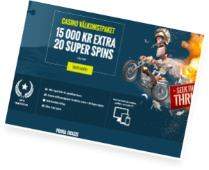 free spins på thrills casino