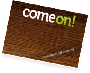 comeon casino betala med faktura